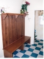 Mud Room Coat Hook/Bench