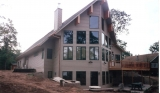Custom Lake Home - during constuction