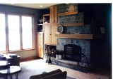 Living Room/Custom Fireplace